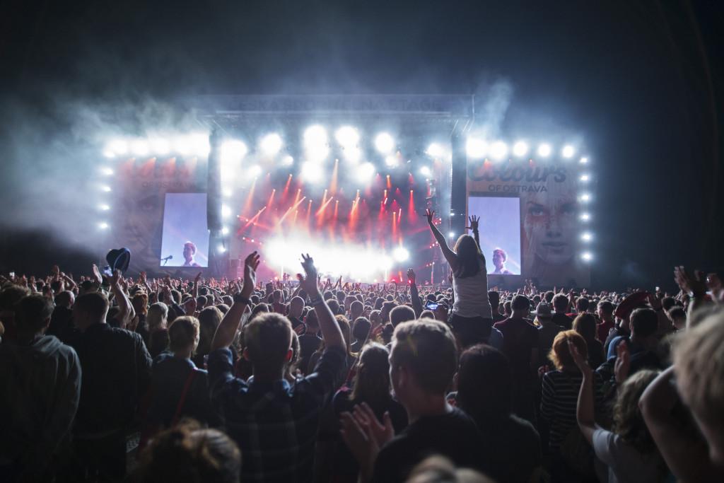 koncert Caribou (foto Magdaléna Lindaurová)