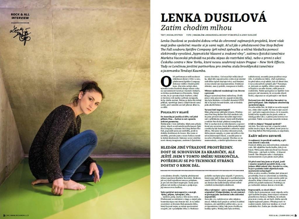 Rock&All 2016_4 - Lenka Dusilova