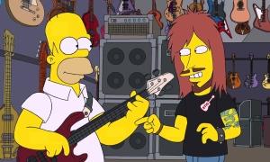Simpsons a Meshuggah