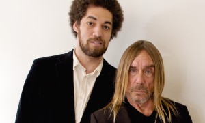 """BEVERLY HILLS, CA - DECEMBER 05:  Danger Mouse and Iggy Pop at the """"Gold"""" Press Conference at the Four Seasons Hotel on December 5, 2016 in Beverly Hills, California.  (Photo by Vera Anderson/WireImage)"""