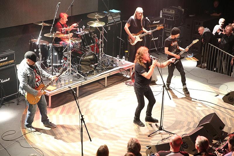 Phil Rudd Band koncert