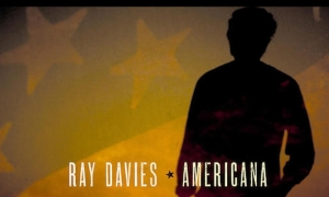 The album art for Ray Davies' new album, Americana.