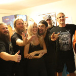 Hypnos + Obituary v backstage