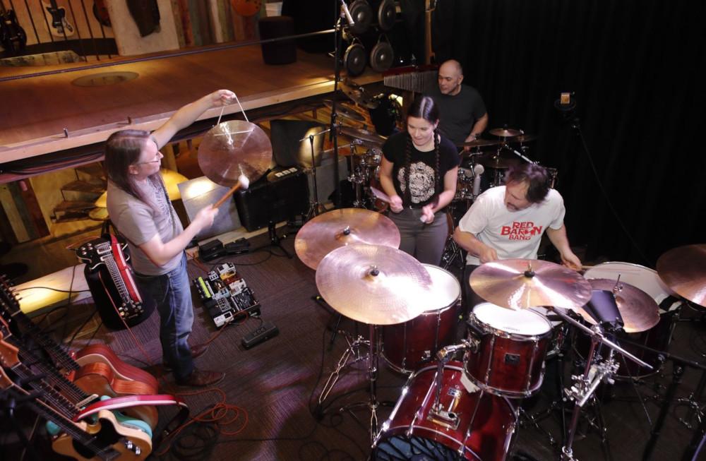 RBB drumming